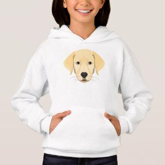 Illustration Puppy Golden Retriver