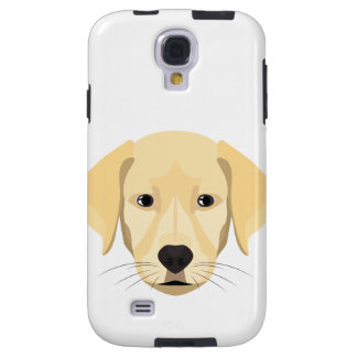 Illustration Puppy Golden Retriver