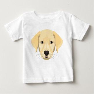 Illustration Puppy Golden Retriver Baby T-Shirt