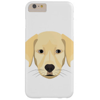 Illustration Puppy Golden Retriver Barely There iPhone 6 Plus Case