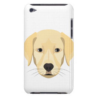 Illustration Puppy Golden Retriver Barely There iPod Covers