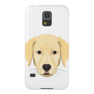 Illustration Puppy Golden Retriver Case For Galaxy S5