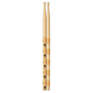 Illustration Puppy Golden Retriver Drumsticks