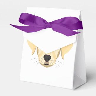 Illustration Puppy Golden Retriver Favor Box