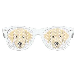 Illustration Puppy Golden Retriver Kids Sunglasses