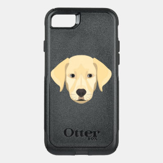Illustration Puppy Golden Retriver OtterBox Commuter iPhone 8/7 Case