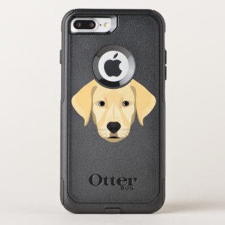 Illustration Puppy Golden Retriver OtterBox Commuter iPhone 8 Plus/7 Plus Case