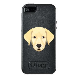 Illustration Puppy Golden Retriver OtterBox iPhone 5/5s/SE Case