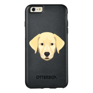 Illustration Puppy Golden Retriver OtterBox iPhone 6/6s Plus Case