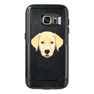 Illustration Puppy Golden Retriver OtterBox Samsung Galaxy S7 Case