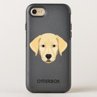 Illustration Puppy Golden Retriver OtterBox Symmetry iPhone 8/7 Case