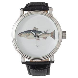 Illustration saumonée vintage colorée montres bracelet