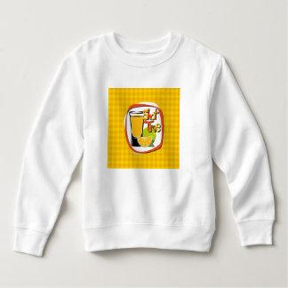 "Illustration Shot with lemon ""Shot Time"" Sweatshirt"