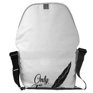 Illustration True Love Feather Commuter Bag
