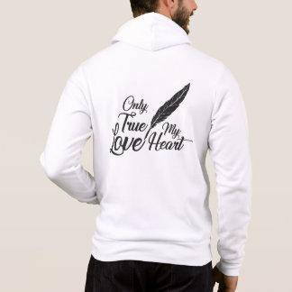 Illustration True Love Feather Hoodie