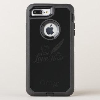 Illustration True Love Feather OtterBox Defender iPhone 8 Plus/7 Plus Case
