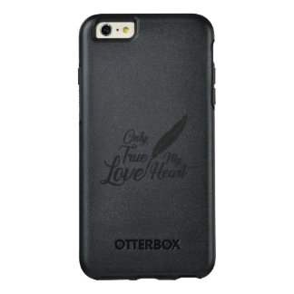 Illustration True Love Feather OtterBox iPhone 6/6s Plus Case