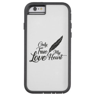 Illustration True Love Feather Tough Xtreme iPhone 6 Case
