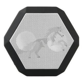 Illustration White Unicorn Black Bluetooth Speaker