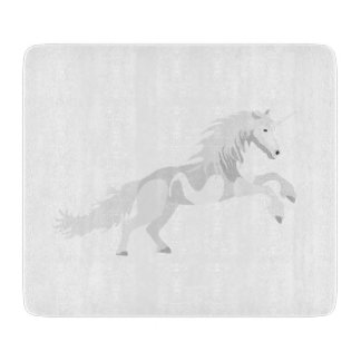Illustration White Unicorn Boards