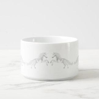 Illustration White Unicorn Bowl