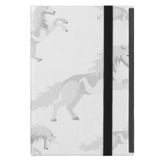 Illustration White Unicorn Case For iPad Mini
