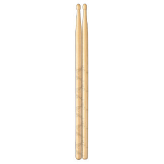 Illustration White Unicorn Drumsticks