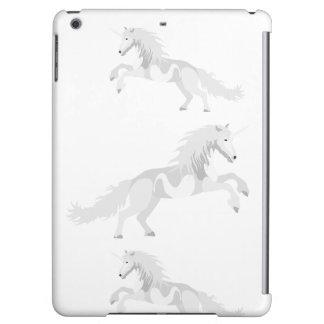 Illustration White Unicorn iPad Air Case