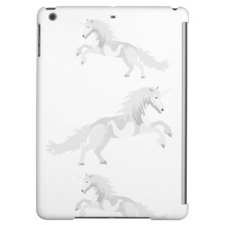 Illustration White Unicorn iPad Air Cases