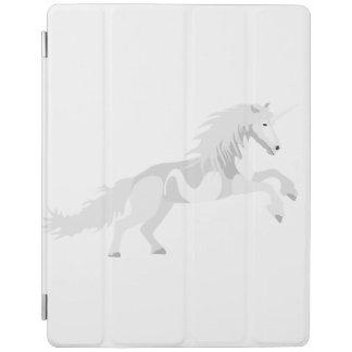 Illustration White Unicorn iPad Smart Cover