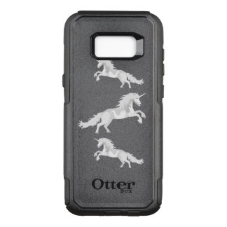 Illustration White Unicorn OtterBox Commuter Samsung Galaxy S8+ Case