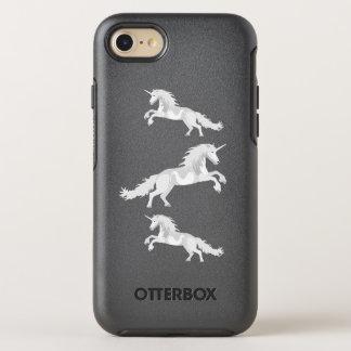 Illustration White Unicorn OtterBox Symmetry iPhone 7 Case