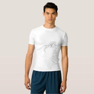 Illustration White Unicorn T-shirt
