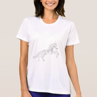 Illustration White Unicorn T-Shirt