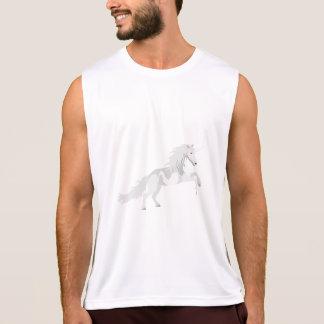 Illustration White Unicorn Tank Top