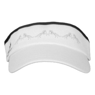 Illustration White Unicorn Visor