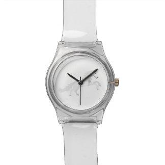 Illustration White Unicorn Watch