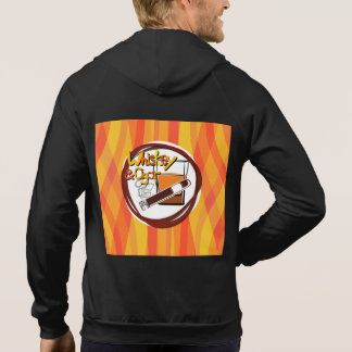 Illustration Wiskey and Cigar Hoodie