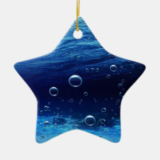 illustration with high detail and vibrant colors ceramic star ornament