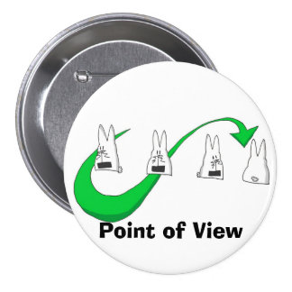 illy14 punti di vista verde, Point of View 3 Inch Round Button