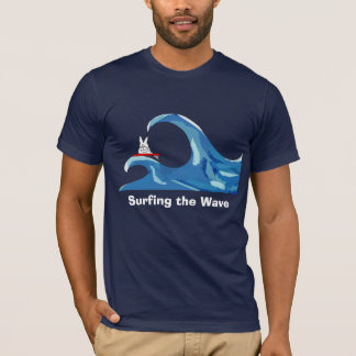 illysurfing, Surfing the Wave T-Shirt