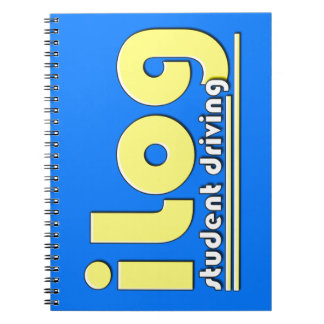 iLog Student Driving iPhone app Notebook