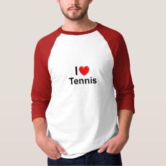 ILove Heart Tennis T-Shirt