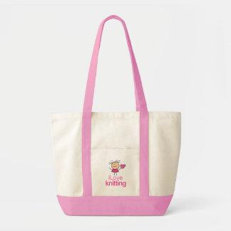 iLove Knitting Gift Tote Bag