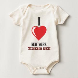 ILOVE NEWYORK BABY BODYSUIT