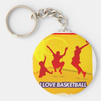 ILoveBasketball Hoops Key Chains