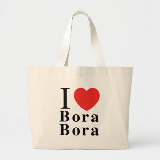 ILoveBoraBora Large Tote Bag