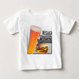 ILoveBurgersandBeer Tall One Shirts