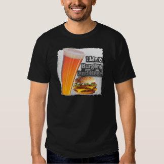 ILoveBurgersandBeer Tall One T Shirt