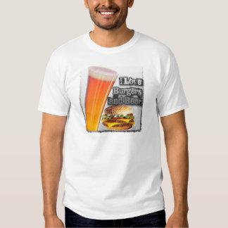 ILoveBurgersandBeer Tall One T-shirts